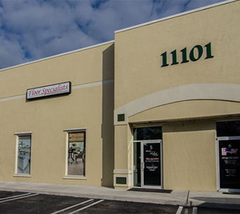 Floor Specialists showroom in Wellington, FL